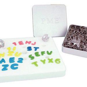 PME - Alphabet Metal Cutter Set