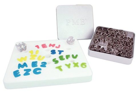 PME - Alphabet Metal Cutter Set