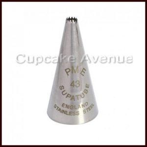 PME no 43 Supatube Piping Nozzle