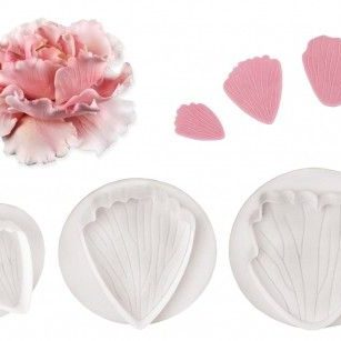 PME Peony Plunger Cutters - Set of 3