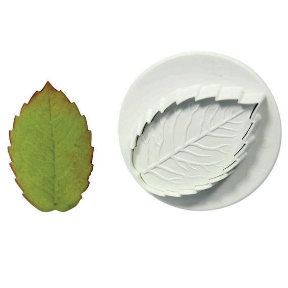 PME Rose Leaf Plunger Cutter/Veiner - Medium