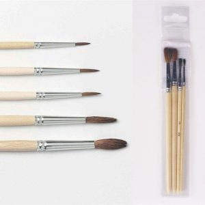 Print this page Brush Pony Hair Set of 4