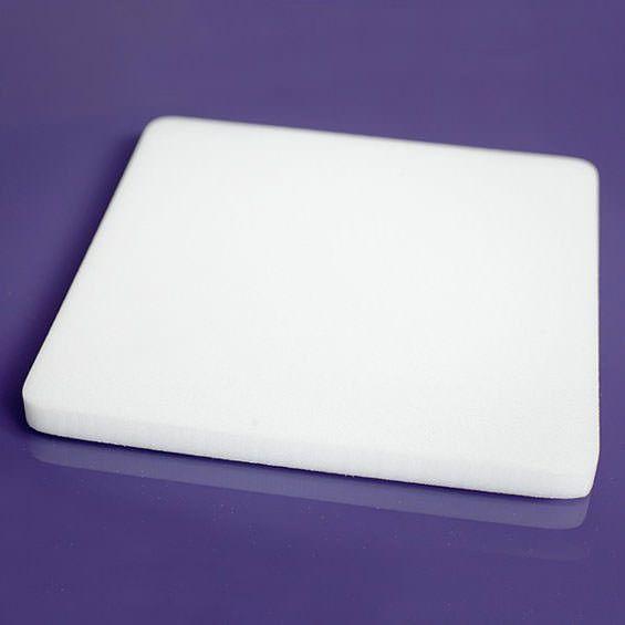 Print this page Purple Cupcakes Flower Foam Pad