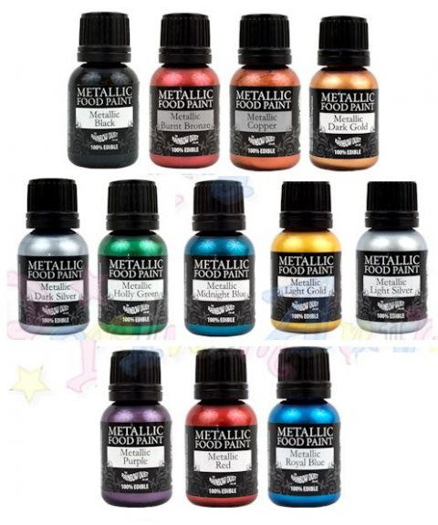 Rainbow Dust Metallic Paints