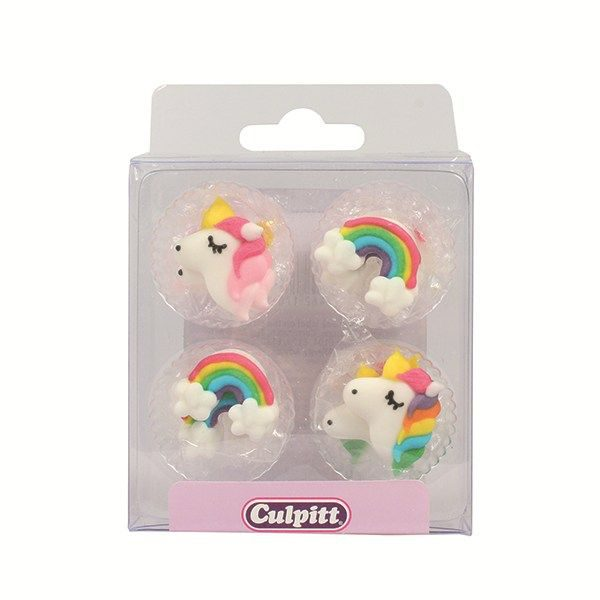 Rainbows & Unicorns Sugar Pipings