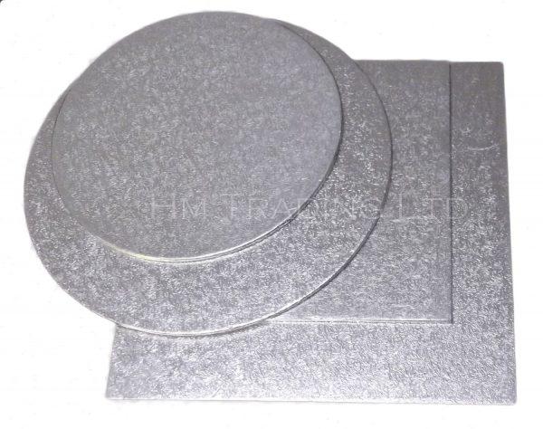 Single 10 Inch Thin 1.75mm Cut Edged Cake Boards