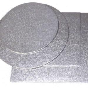 Single 6 Inch Thin 1.75mm Cut Edged Cake Boards