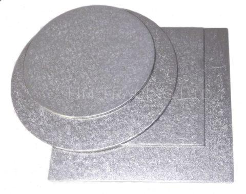 Single 7 Inch Thin 1.75mm Cut Edged Cake Boards
