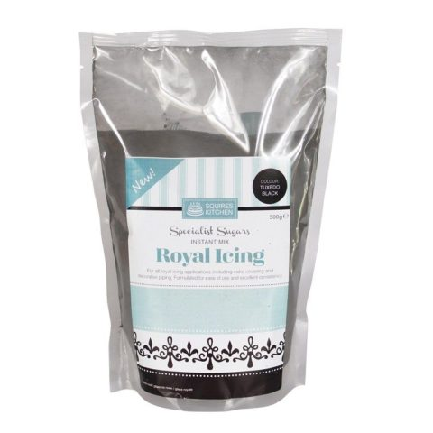 Squires Kitchen Tuxedo Black Royal Icing (500g)