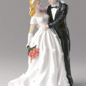 Wedding Figurine - Bride and Groom Couple