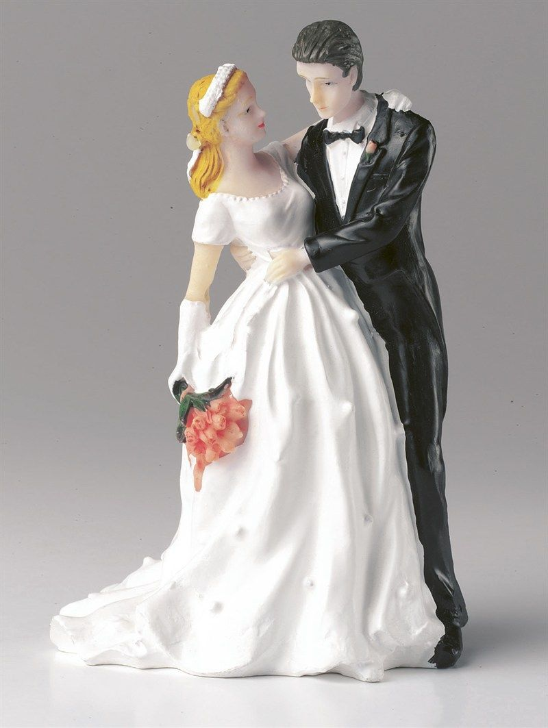 Wedding Figurine - Bride and Groom Couple