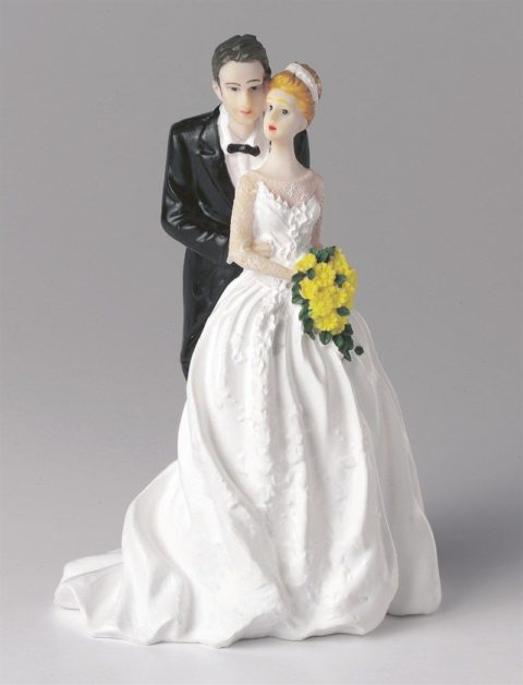 Wedding Figurine - Bride and Groom Together