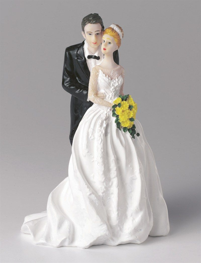Wedding Figurine - Bride and Groom Together