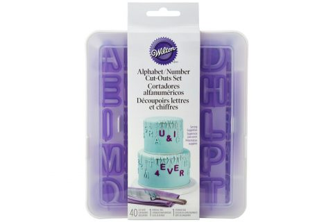Wilton : Alphabet and Numbers Cut Out Set