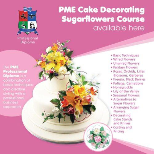 PME SugarFlower Diploma Course